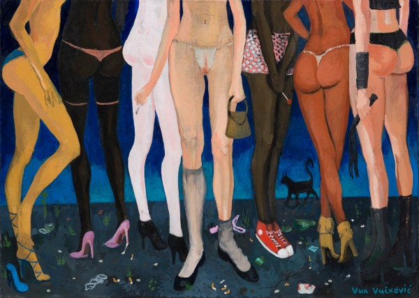 Legs, 70 x 50 cm, oil on canvas, 2015