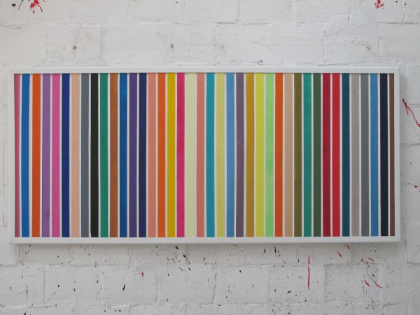 Nice, 185 x 85 cm, acrylic on wood, 2015.